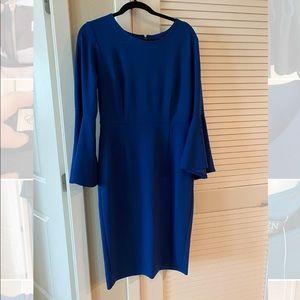 Beautiful Royal Blue midi dress